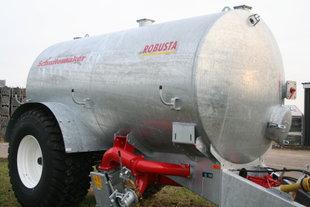 Schuitemaker Robusta 120 galvanised tankerwagon